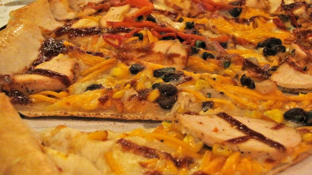 Southwest BBQ Chicken Pizza. Tasty!